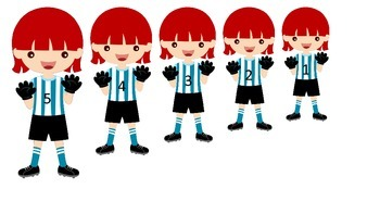 Soccer Sports themed Size Sequence preschool educational l