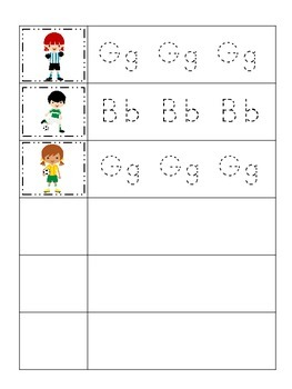 Soccer Sports themed Trace the Letter preschool educational worksheets.