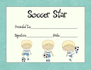 Soccer Star Awards
