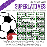 Soccer Superlative Awards - Green