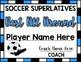 Soccer Superlative Awards - Light Blue