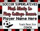Soccer Superlative Awards - Maroon