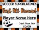 Soccer Superlative Awards - Orange