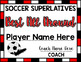 Soccer Superlative Awards - Red