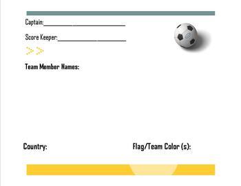 Soccer Team Cards
