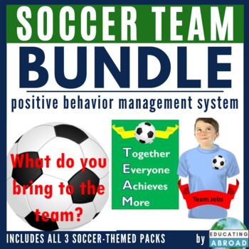 Soccer Team Classroom Theme Pack