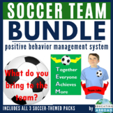 Soccer Team Classroom Theme BUNDLE: Classroom Management System, Jobs & Decor