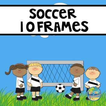 Soccer Ten Frames