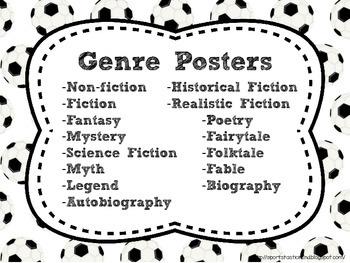 Soccer Theme Genre [Posters]