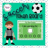 Soccer Theme Token Board