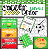 Soccer Themed Classroom Decor