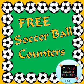 Soccer Themed Counters