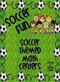 Soccer Themed Math Centers: Algebra, Word Problems, Polygons
