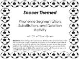 Soccer Themed Phoneme Segmentation Activity