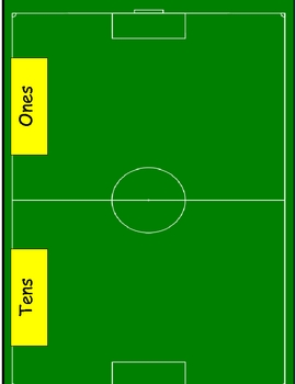 Soccer Themed Place Value Game