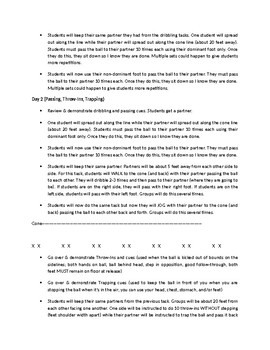 6-12 Grade Soccer Unit Outline