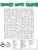 Soccer Word Search: 3 Difficulties