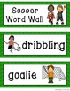 Soccer Word Wall Display