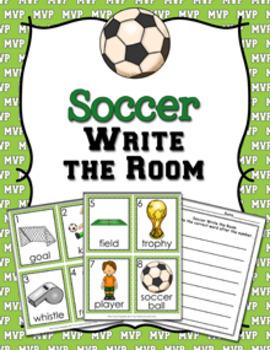 Soccer Write the Room