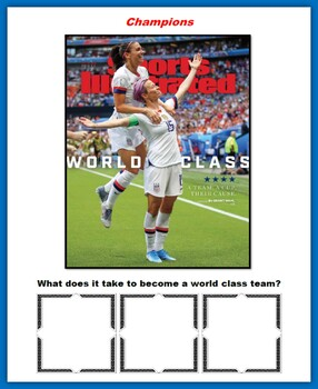 Soccer Writing Prompts (2019 FIFA Women's World Cup)