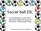 Icebreaker Soccerball Games for ELLs