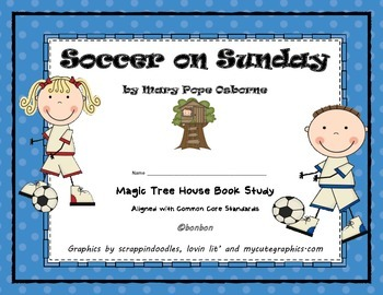 Soccer on Sunday - MTH Common Core book study