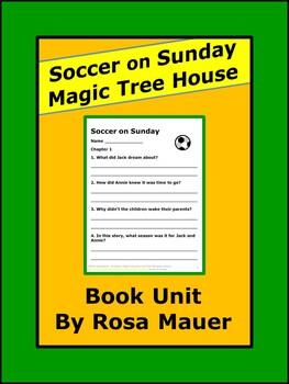 Soccer on Sunday Magic Tree House Sports Literacy