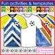 Soccer/football sport theme art activities & classroom decor resource pack