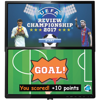 Soccer-themed REVIEW GAME - Test Prep