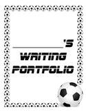 Soccer/ESPN themed Writing Portfolio Cover