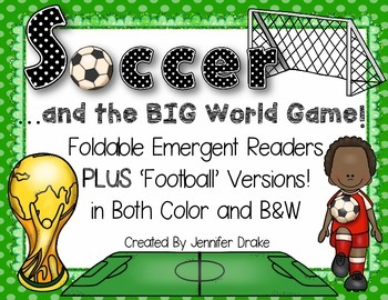 Soccer/Football and The Big World Event Foldable Readers P
