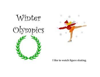Sochi Olympics Activities/ Mini book