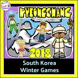 Winter Olympics 2018 Literacy & Math Activities for PyeongChang Winter Games