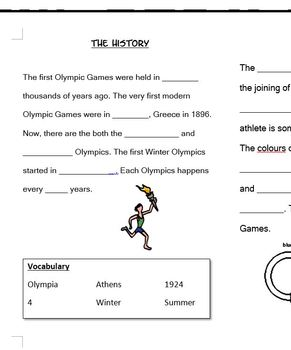 Sochi Winter Olympics 2014 Booklet