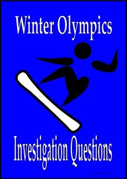 Sochi Winter Olympics Investigation Questions 2014