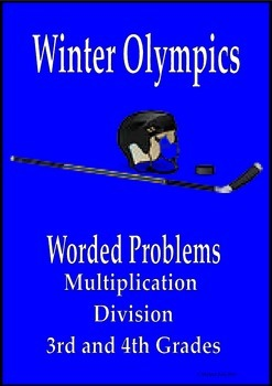 Sochi Winter Olympics math worded problems multiplication and division 3rd 4th