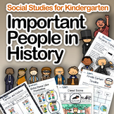 Social Studies: Important People in History (works with di