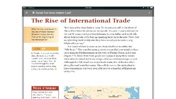 "Social 8: Chapter Two ""The Expansion of Trade"""