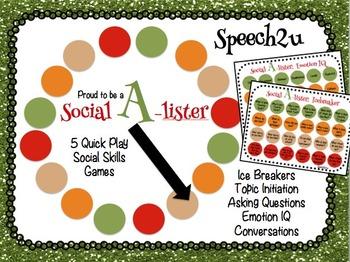 Social A-lister: Conversations, Social Skills, Speech Therapy
