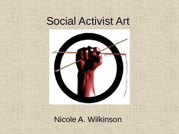 Social Activist Art Responsibility Community Social Change Service Learning