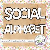 Social First Grade- A year of teaching activities
