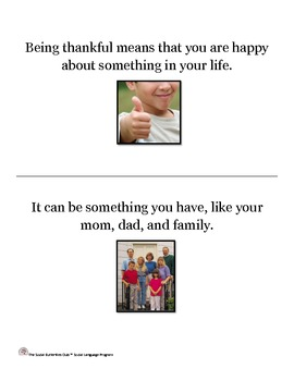 Being Thankful Life Lesson Story