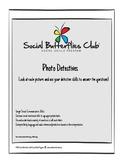 Social Butterflies Club  Photo Detectives- Winter