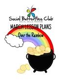"Social Butterflies Club® Social Skills Group Lesson Plans-""Over the Rainbow"""