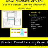 Social Change/Movements: Middle School Social Studies/ELA PBL