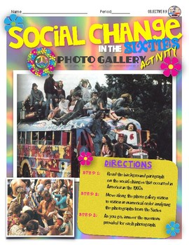 Social Change in the Sixties Gallery Walk Activity
