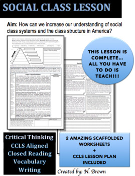Social Class Lesson
