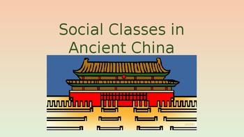 Ancient China Zhou Dynasty Social Classes