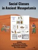 Social Classes in Ancient Mesopotamia: A Cut & Paste Activity