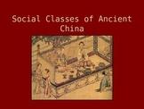 Social Classes of Ancient China